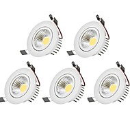 cheap -3W 1 LEDs Decorative LED Downlights Warm White / Cold White 85-265V Indoor / Garage / Carport / Storage Room / Utility Room