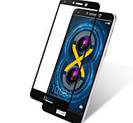Недорогие -Защитная плёнка для экрана Huawei для Honor 6X Закаленное стекло 1 ед. Защитная пленка на всё устройство Защита от царапин
