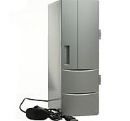 Portable Mini USB PC Laptop Fridge Cooler Mini USB PC Refrigerator Warmer Cooler Beverage Drink Cans Freezer
