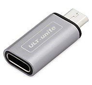 Micro USB 2.0 Adapter, Micro USB 2.0 to USB 2.0 Type C Adapter Male - Female
