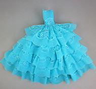 Evening/Party Dress in Lake Green For Barbie Doll For Girl's Doll Toy