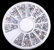 PINPAI Nail Art Stickers Mixed Jewelry Decoration Rhinestone Pearls Cosmetic Design
