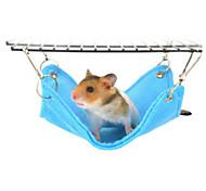 Hamster Plush Beds Blue Pink