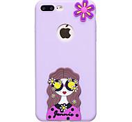 Для яблока iphone 7 7 плюс чехол крышка красочный узор плод цвет tpu материал diy телефон чехол 6s 6 плюс se 5s 5