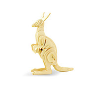 cheap -3D Puzzle Jigsaw Puzzle Wood Model Dinosaur Plane / Aircraft Kangaroo DIY Wooden Wood Classic Kid's Unisex Gift