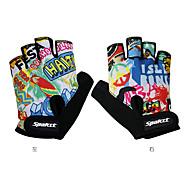 Недорогие -SPAKCT Спортивные перчатки Перчатки для велосипедистов Спортивные перчатки Пригодно для носки Дышащий Нескользящий Прочный Без пальцев