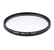 Andoer 77mm filter set uv cpl star kit de filtre à 8 points avec étui pour canon nikon sony dslr camera lens