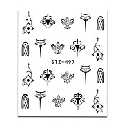 cheap -20pcs/set Water Transfer Sticker Nail Sticker Nail Art DIY Tool Accessory Nail Decals Stickers Nail Art Design