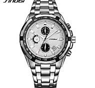 SINOBI Per uomo Orologio alla moda Orologio da polso Giapponese QuarzoCalendario Cronografo Quadrante grande Nottilucente Resistente agli