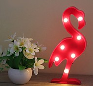 3D Flamingo  Party Props LED Lamp Night Lights Desk Wedding Decor Gift Kids Room Bedroom Home Decor
