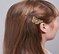 Европа и Соединенные Штаты внешней торговли моды простые аксессуары для волос природных шутник девочек клипы клип бионной бабочки клип