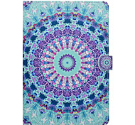 cheap -Case for Apple iPad pro 10.5 9.7''Cover Card Holder with Stand Pattern Full Body Case Mandala Hard PU Leather iPad (2017) 2 3 4 Air 2 Air mini 1 2 3 4