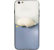 Недорогие -Для iphone 7 плюс 7 чехлов крышка шаблон задняя крышка squishy случай мультфильм животное жесткий акрил для iphone 6s плюс 6s 6 плюс 6 5s
