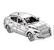 Недорогие -Игрушечные машинки 3D пазлы Металлические пазлы Игрушки Автомобиль Корабль 3D Предметы интерьера Своими руками Хром Металл Не указано