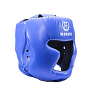 Headgear Boxing Helmet Taekwondo Boxing Exercise & Fitness Sanda Mixed Martial Arts (MMA) Muay ThaiBreathable Shock Resistant Adjustable