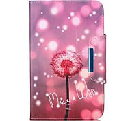For Apple iPad Pro 9.7'' iPad Pro 10.5'' Air Air2 Case Cover Dandelion Pattern PU Skin Material Apple Flat Protective Shell