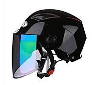 cheap -AIS R1-802-2 Motorcycle Helmet With Bluetooth Male Helmet Four Seasons Double Lens Half Full CoverCan Be Exposed Helmet With Black Mist Lens