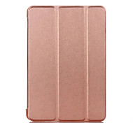 cheap -Case Cover for Pad pro 10.5 iPad (2017) Flip Full Body Case Solid Color Hard PU Leather for iPad Air 2 Air Mini 4  mini1.2.3 ipad 2.3.4