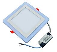 cheap -JIAWEN 18W 90 LEDs Decorative LED Panel Lights Cold White Blue AC85-265
