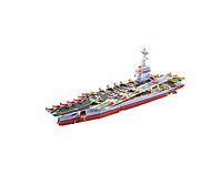 cheap -3D Puzzles Model Building Kit Warship Aircraft Carrier Ship DIY High Quality Paper Classic Unisex Gift