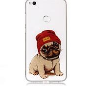 Недорогие -Чехол для huawei p9 lite p8 lite чехол чехол собака рисунок высокая проницаемость tpu материал imd технология флеш-накопитель телефон