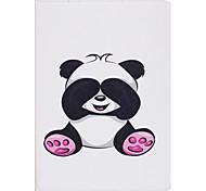 Case For IPad Mini 1 2 3 Mini 4 Case Cover Panda Pattern PU Material Three Fold Flat Computer Shell Phone Case