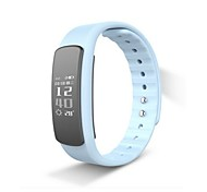 cheap -HHY New I6Hr Heart Rate Monitoring Large Screen Touch Message Push Wechat Sports Call Reminder Remote Camera Smart Bracelet Android IOS