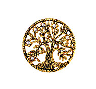 Women's Girls' Brooches Fashion Personalized Silver Plated Gold Plated Flower Jewelry For Wedding Gift