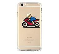 Недорогие -Чехол для iphone 7 6, играющий с яблоком logo tpu мягкая ультратонкая задняя крышка чехол для iphone 7 плюс 6 6s плюс se 5s 5 5c 4s 4