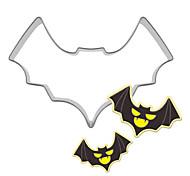 1Pcs Halloween Bat Cookie Cutter Metal Biscuit Mold Stainless Steel DIY Dessert Maker
