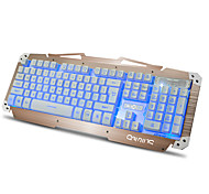 cheap -M-500S Wired Multicolor Backlit 104 Gaming Keyboard Spill-Resistant Backlit