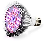 E26/E27 LED Grow Lights 48 SMD 5730 2400-2600 lm Red Blue K AC 85-265 V