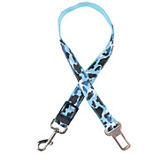 cheap -Dog Harness Safety Camouflage Color Terylene Yellow Red Green Blue Pink