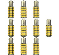 cheap -10pcs 1156 Car Light Bulbs 4W SMD 3528 385lm LED Light Bulbs Turn Signal Light