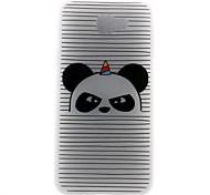 Case For Samsung Galaxy J7 (2017) J5 (2017) Case Cover Striped Panda Pattern 3D Relief Milk TPU Material Phone Case For Galaxy J3 (2017) J7 Prime