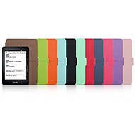 Shy Bear™ 6 Inch Leather Cover Case for Amazon Kindle Voyage 2014 E-book Reader Assorted Color