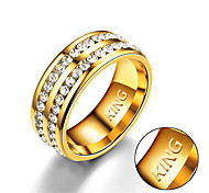 Недорогие --Титановая сталь--Персональный подарок-Кольца-