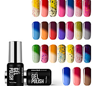 cheap -Nail Polish UV Gel  7ml 1 Soak Off Glitters UV Color Gel Classic Shimmering Jelly Neutral Soak off Long Lasting  Daily Soak Off Glitters
