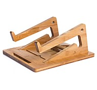 Laptop Stand Holder Adjustable Stand Steady Laptop Stand For MacBook  Other Laptop Wooden