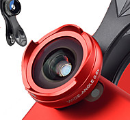 Mobile Phone Lens Fish-Eye Lens 0.6X Wide-Angle Lens 10X Macro Lens Aluminium Alloy  For Android Cellphone iPhone