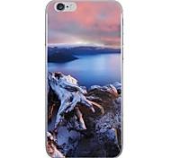 Caso per Apple iphone 7 7 più copertina case modello lago hd verniciato più spesso materiale tpu caso morbido caso telefono per iphone 6s