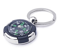 ZIQIAO Compass Keyring Novelty Key Ring Chain Keychain Zinc Alloy Gift