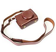Недорогие -Dengpin pu кожаный чехол для камеры сумка для panasonic dmc-lx10gk-k lx10 (различные цвета)