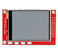 "2.8"" TFT 320 x 240p Touchscreen Display Module for Raspberry Pi B+ / B - Red"