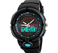 cheap -Skmei® Men's Outdoor Sports Multifunction Solar Wrist Watch 50m Waterproof Assorted Colors