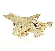 DIY KIT 3D Puzzles Jigsaw Puzzle Toys Tank Aircraft Fighter 3D Unisex Pieces