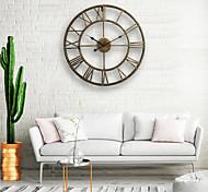 Недорогие -Часы настенные металлические в стиле кантри