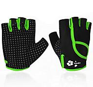 Недорогие -BOODUN/SIDEBIKE® Спортивные перчатки Перчатки для велосипедистов Пригодно для носки Износостойкий Защитный Без пальцев Синтетические