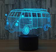 Недорогие -1 комплект 3D ночной свет Сенсорный 7-Color USB Сенсорный датчик Меняет цвета