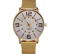 preiswerte -Herrn Damen Quartz Armbanduhr Smartwatch Militäruhr Sportuhr Chronograph Wasserdicht Metall Band Charme Luxus Retro Kreativ Freizeit